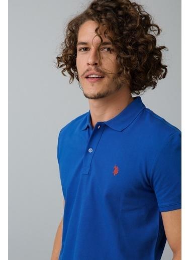 U.S. Polo Assn. Polo Yaka Tişört Mavi